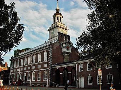 Photograph - Independence Hall by Ed Sweeney