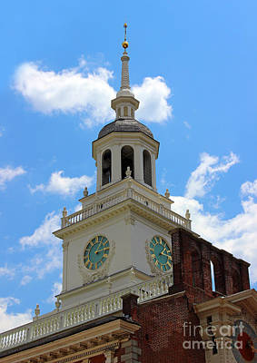 Photograph - Independence Hall In Philadelphia by Karen Adams