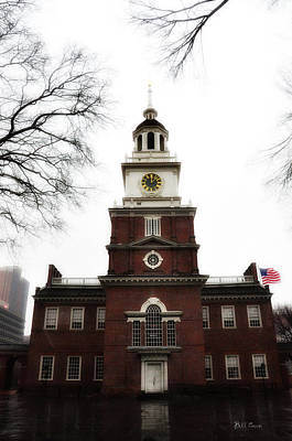 Independence Hall Philadelphia Print by Bill Cannon