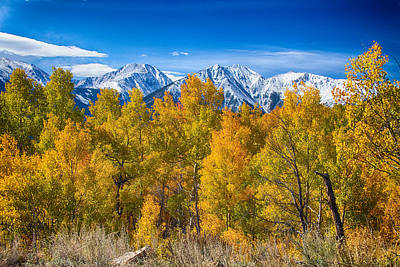 Lakes Photograph - Independence Pass Autumn View by James BO  Insogna