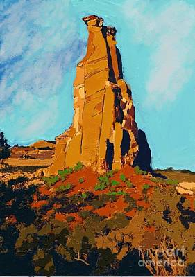 Independence Rock Print by Craig Nelson