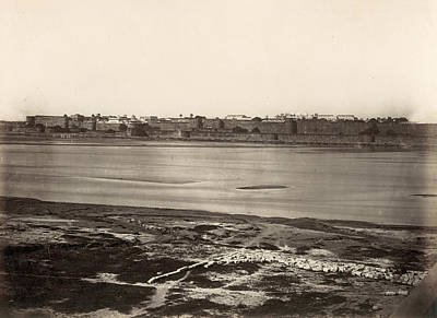 Photograph - India Agra Red Fort by Granger