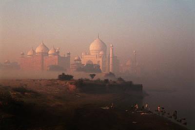 Adam Photograph - India, Agra, Taj Mahal (large Format by Claudia Adams