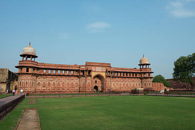 Cindy Photograph - India, Agra The Red Fort Of Agra This by Cindy Miller Hopkins