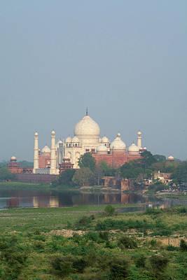 India, Agra View Of The Taj Mahal Art Print by Cindy Miller Hopkins
