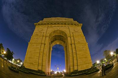 India Gate Art Print by Aaron Bedell