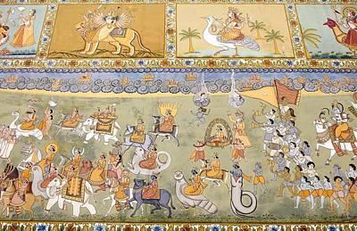 Hindu Mythology Photograph - India. Jodhpur. Mehrangarh Fort. Detail by Everett
