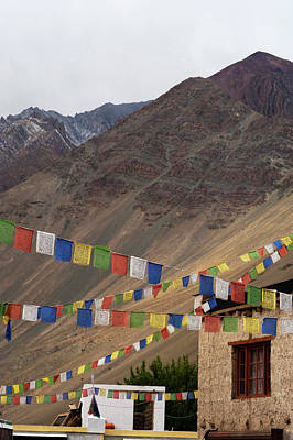 Himalaya Photograph - India, Ladakh, Alchi, Colorful Buddhist by Anthony Asael