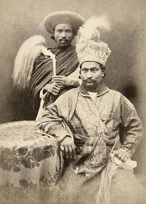 Photograph - India Prince, C1858 by Granger