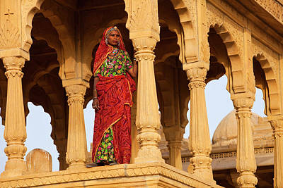 Concubine Photograph - India, Rajasthan, Jaiselmer by Jaynes Gallery