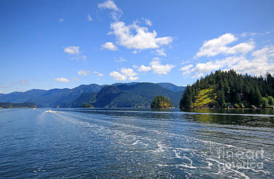 Photograph - Indian Arm by Charline Xia