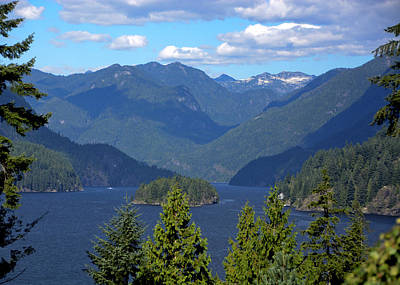 From The Kitchen - Indian Arm by Doug Matthews