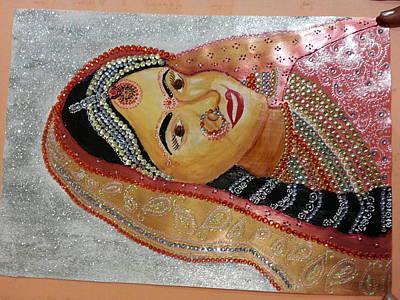 Indian Bride Original by Ritu Palli