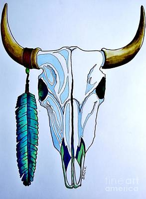 Indian Buffalo Art Print by Kyle  Brock