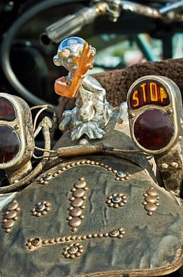 Harley Davidson Photograph - Indian Chopper Taillight by Jill Reger