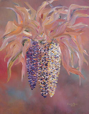 Painting - Indian Corn by Judith Rhue