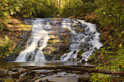 Photograph - Indian Creek Falls by Dennis Hedberg