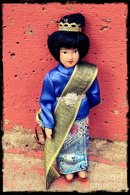 Ethnic Dolls Photograph - Indian Doll by Sophie Vigneault