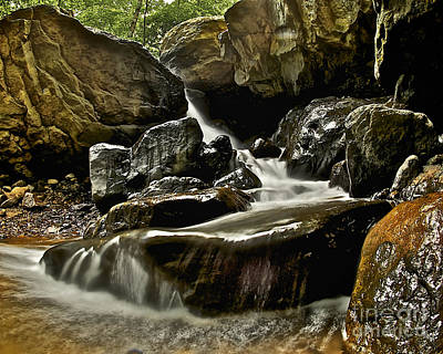 Photograph - Indian Falls by Mark Miller