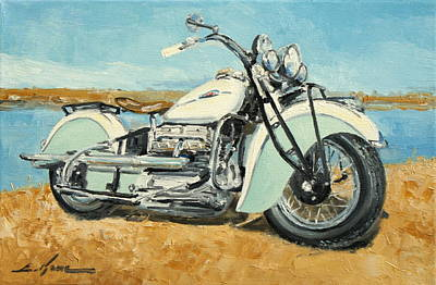 Indian Four 1941 Art Print