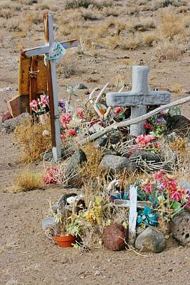 Photograph - Indian Gravesite by Marilyn Diaz