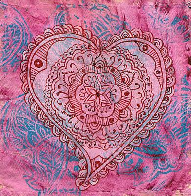 Indian Heart Art Print