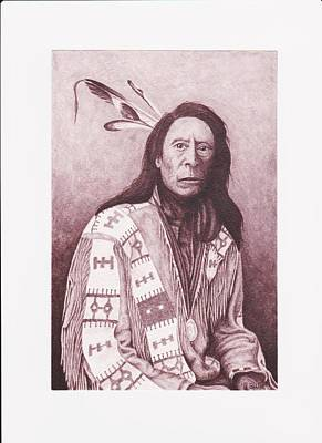 Painting - Indian Jack Red Cloud by Billie Bowles