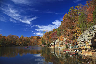 Art Print featuring the photograph Indian Lake by Wendell Thompson