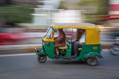 Photograph - Indian Mass Transit by Dave Hall