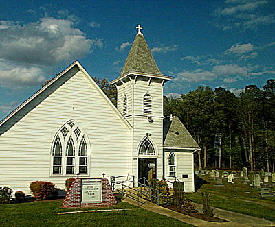 Photograph - Indian Mission United Methodist Church Harbeson Delaware by Pamela Hyde Wilson