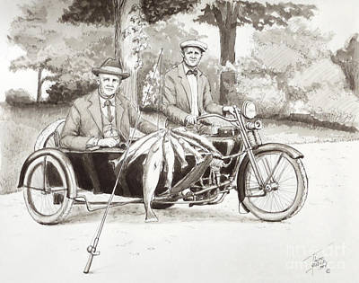Indian Motorcylce Founders Art Print