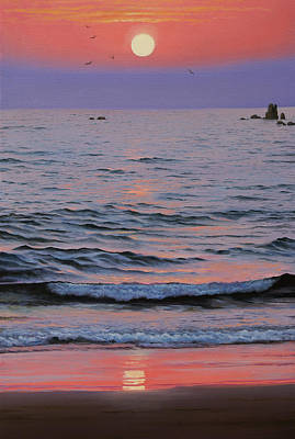 Painting - Indian Ocean by Vrindavan Das