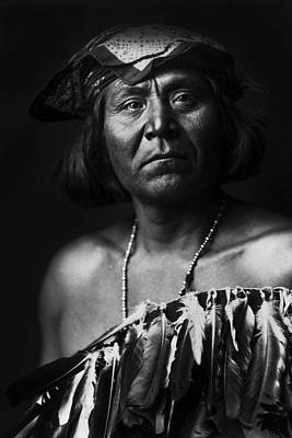 1903 Photograph - Indian Of North America Circa 1903 by Aged Pixel