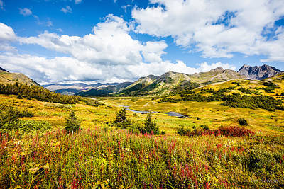 Photograph - Indian Pass In Autumn by Tim Newton