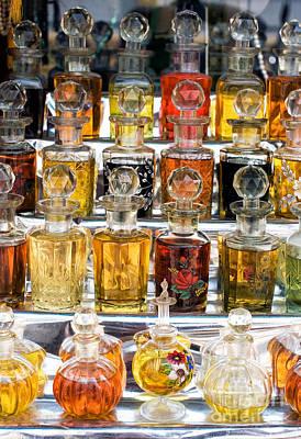 Indian Perfume Bottles Art Print