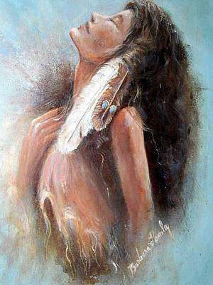 Painting - Indian Princess by Barbara Lemley