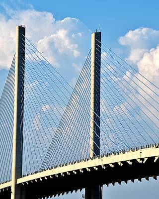 Photograph - Indian River Bridge - Delaware by Kim Bemis