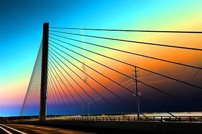 Photograph - Indian River Bridge by Keith Swango