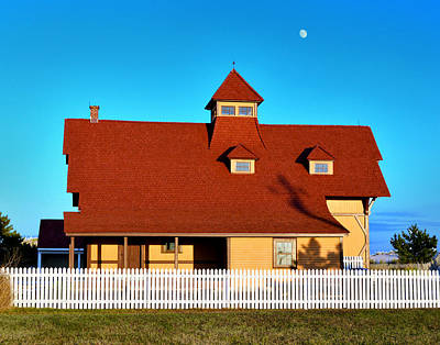 Photograph - Indian River Life Saving Station Museum by Bill Swartwout Photography