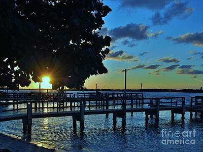 Photograph - Indian River Sunrise by Bob Sample