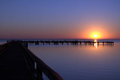 Titusville Photograph - Indian River Sunrise by Brian Harig