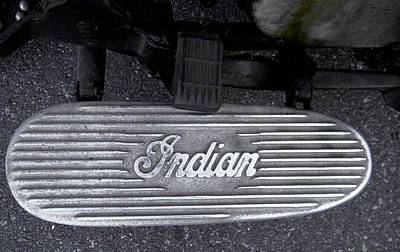 Photograph - Indian Running Board by Christy Usilton