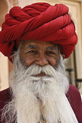 Indian Santa Claus? Art Print
