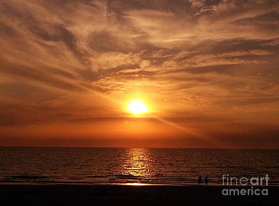 Photograph - Indian Shores Sunset by Lora Duguay