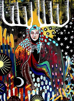 Painting - Indian Spirit by Amy Sorrell