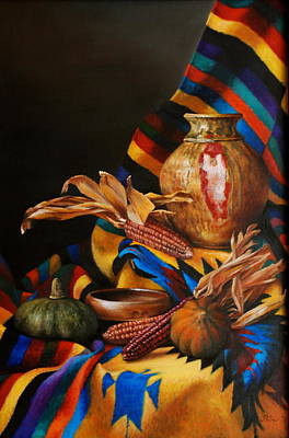 Petrov Painting - Indian Summer by Dan Petrov