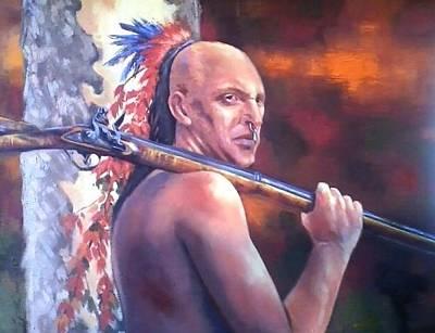 Oneida Painting - Indian Summer by Jeff Prechtel