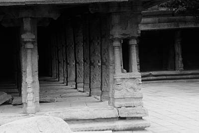 Photograph - Indian Temple Architecture by Ramabhadran Thirupattur