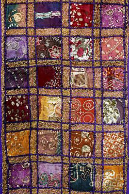 Indian Textile Wall Hanging Art Print
