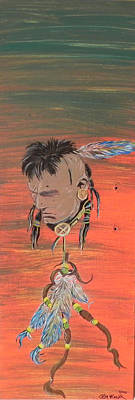 Painting - Indian Thought by Cheryl McKeeth